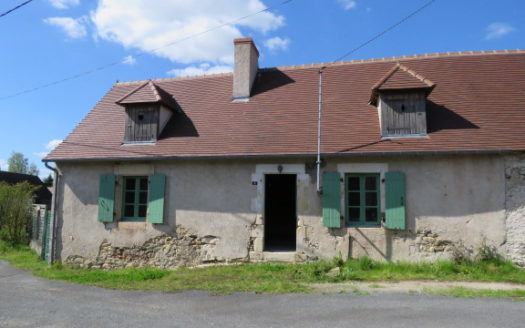 Cottage for sale near Montmorillon France Reference : 60409