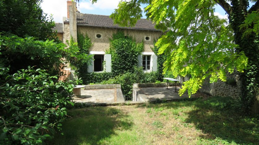 Townhouse with character for sale in Montmorillon France